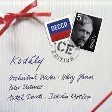 Zoltan Kodaly (1882-1967): Orchesterwerke, 4 CDs