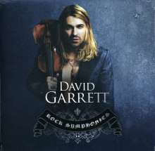 David Garrett: Rock Symphonies (CD + DVD), 2 CDs