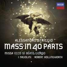 """Alessandro Striggio der Jüngere (1573-1630): Missa """"Ecco si Beato Giorno"""" (Messe zu 40 Stimmen), CD"""