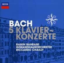Johann Sebastian Bach (1685-1750): Klavierkonzerte BWV 1052-1056, CD