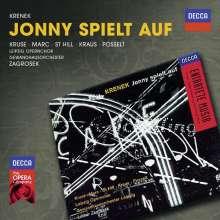 Ernst Krenek (1900-1991): Jonny spielt auf, 2 CDs