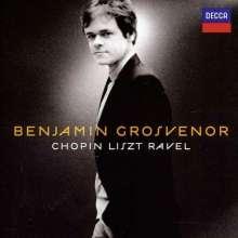 Benjamin Grosvenor - Chopin/Liszt/Ravel-Recital, CD