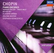 "Frederic Chopin (1810-1849): Klavierwerke ""Piano Encores"", CD"
