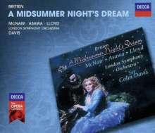 Benjamin Britten (1913-1976): A Midsummernight's Dream op.64, 2 CDs