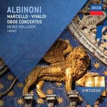 Heinz Holliger spielt Oboenkonzerte, CD