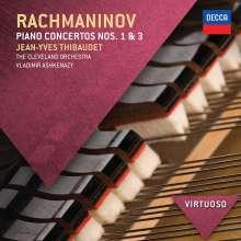 Sergej Rachmaninoff (1873-1943): Klavierkonzerte Nr.1 & 3, CD