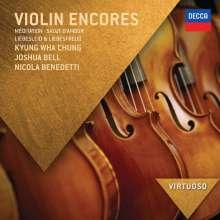 Violin Encores, CD