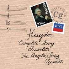 Joseph Haydn (1732-1809): Sämtliche Streichquartette, 21 CDs