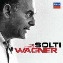 Richard Wagner (1813-1883): Georg Solti - The Wagner Operas (10 Gesamteinspielungen), 37 CDs