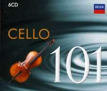 Cello 101 - 101 Essential Tracks from Romantic Cello, 6 CDs