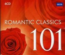 100 Romantic Classics, 6 CDs