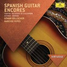 Göran Söllscher & Narciso Yepes - Encores, CD