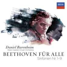 Ludwig van Beethoven (1770-1827): Symphonien Nr.1-9 (Beethoven für alle), 5 CDs