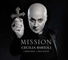 Cecilia Bartoli - Mission (Deluxe-Ausgabe im Hardcover-Booklet), CD
