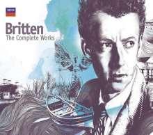 Benjamin Britten (1913-1976): Benjamin Britten  - The Complete Works, 65 CDs und 1 DVD