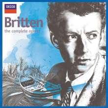 Benjamin Britten (1913-1976): Benjamin Britten  - The Complete Operas, 20 CDs