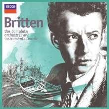 Benjamin Britten (1913-1976): Benjamin Britten  - The Complete Orchestral & Instrumental Music, 13 CDs
