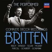Benjamin Britten (1913-1976): Benjamin Britten  - The Performer (Complete Decca Recordings), 27 CDs