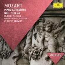 Wolfgang Amadeus Mozart (1756-1791): Klavierkonzerte Nr.23 & 24, CD