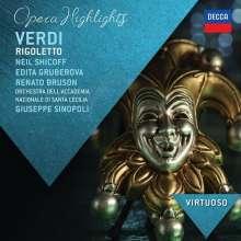 Giuseppe Verdi (1813-1901): Rigoletto (Ausz.), CD