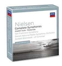 Carl Nielsen (1865-1931): Symphonien Nr.1-6, 6 CDs
