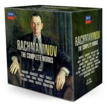Sergej Rachmaninoff (1873-1943): Rachmaninoff - The Complete Works, 32 CDs
