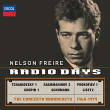 Nelson Freire - Radio Days (The Concerto Recordings 1968-1979), 2 CDs