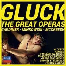 Christoph Willibald Gluck (1714-1787): Die großen Opern, 15 CDs