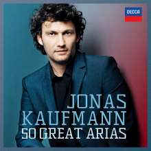 Jonas Kaufmann - 50 Great Arias, 4 CDs