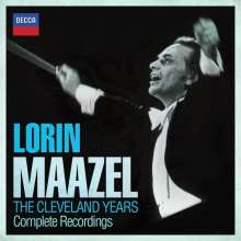 Lorin Maazel - The Cleveland Years Complete Recordings, 19 CDs