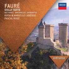 Gabriel Faure (1845-1924): Werke für Klavier 4-händig, CD
