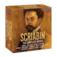 Alexander Scriabin (1872-1915): Sämtliche Werke, 18 CDs
