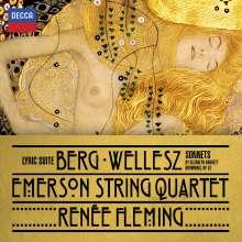 Egon Wellesz (1885-1974): Sonnets by Elizabeth Barrett Browning op.52 für Sopran und Streichquartett, CD