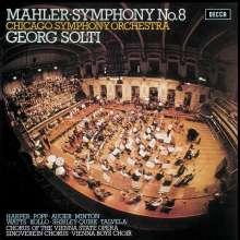 Gustav Mahler (1860-1911): Symphonie Nr.8 (180g), 2 LPs