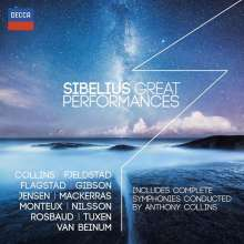 Jean Sibelius (1865-1957): Great Performances, 11 CDs