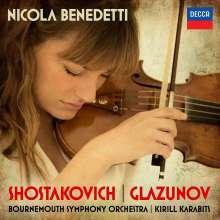 Nicola Benedetti - Schostakowitsch / Glasunow, CD