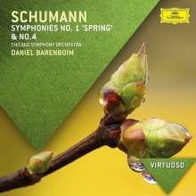 Robert Schumann (1810-1856): Symphonien Nr.1 & 4, CD