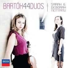 Bela Bartok (1881-1945): 44 Duos für 2 Violinen, CD