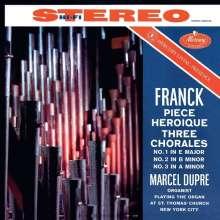Cesar Franck (1822-1890): Choräle für Orgel Nr.1-3, CD