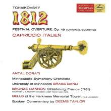 Peter Iljitsch Tschaikowsky (1840-1893): 1812 Ouvertüre op.49 (180g), 2 LPs