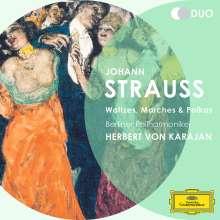 Johann Strauss II (1825-1899): Walzer,Polkas,Märsche, 2 CDs