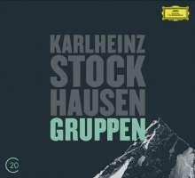 Karlheinz Stockhausen (1928-2007): Gruppen für 3 Orchester (Werk Nr.6), CD