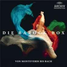 Die Barock-Box (DG Archiv) - Von Monteverdi bis Bach, 50 CDs