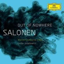 "Esa-Pekka Salonen (geb. 1953): Violinkonzert ""Out of Nowhere"", CD"