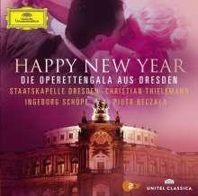 "Silvesterkonzert in Dresden 31.12.2012 - Operettengala aus Dresden ""Happy New Year"", 1 CD und 1 DVD"