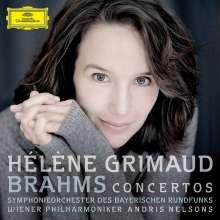 Johannes Brahms (1833-1897): Klavierkonzerte Nr.1 & 2, CD