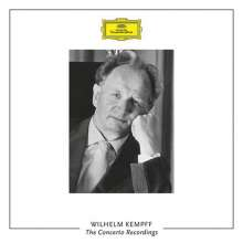 Wilhelm Kempff - The Concerto Recordings on DGG & Decca, 14 CDs