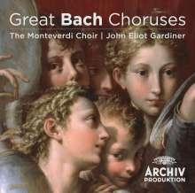 Johann Sebastian Bach (1685-1750): John Eliot Gardiner - Great Bach Choruses, CD