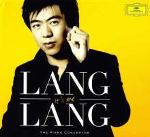 Lang Lang - It's me (The Piano Concertos), 4 CDs