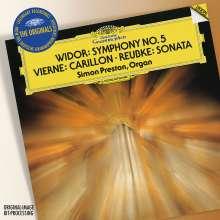 Charles-Marie Widor (1844-1937): Orgelsymphonie Nr.5, CD